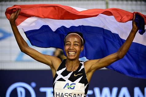 Hassan took the lead with 600 meters remaining in the race and did not look back. Sifan Hassan sets new women's one-hour world record