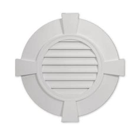 decorative gable vents home depot fypon 38 in x 2 3 8 in polyurethane decorative