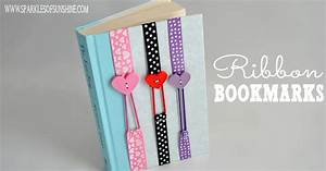 Ribbon Bookmarks - Sparkles of Sunshine