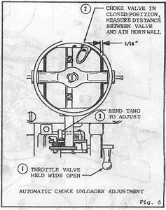 Autolite 1100 Carb Adjustment Question