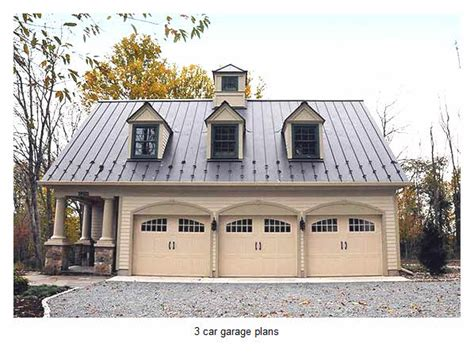 14 Ideas 3 Car Garage Plans With Loft