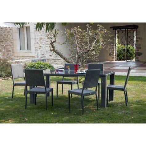 barrière aluminium jardin table de jardin faro aluminium r 233 sine tress 233 e l180 l100 cm