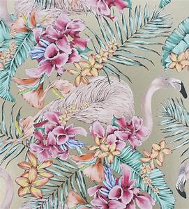Flamingo Club Wallpaper by Matthew Williamson Jane Clayton