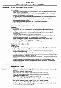 Oracle Software Engineer Cv June 2020