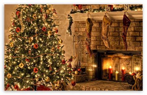 Christmas Night 4k Hd Desktop Wallpaper For • Wide & Ultra