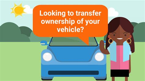 Transferring Ownership Of Vehicles