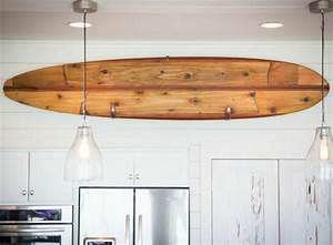 Deco Mur En Bois Planche : d co planche de surf en 24 id es originales ~ Dailycaller-alerts.com Idées de Décoration