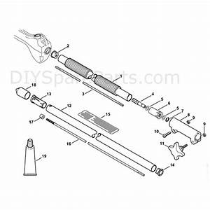 Stihl Ht 56c Pole Pruner  Ht56c  Parts Diagram  Drive Tube Assembly