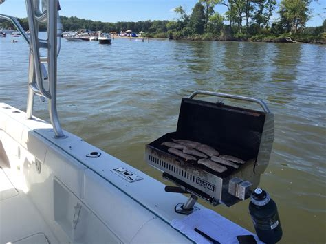 Weber Boat Grill by Best Marine Grill For Boat Page 2 The Hull