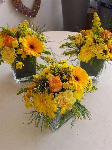 golden wedding anniversary yellow  orange flower