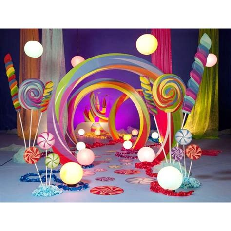 candyland prom ideas decoracion  globos