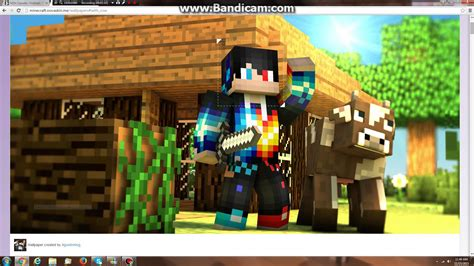 Minecraft Animated Wallpaper Maker - skin wallpapers and minecraft wallpaper high