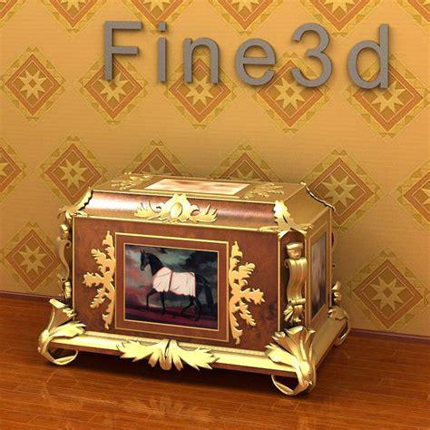 Fancy Cupboard by Fancy Cupboard 3d Model Max Obj 3ds Cgtrader