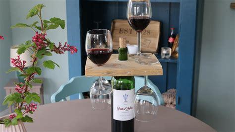 ᐅ Weinglashalter Für Die Weinflasche Selber Bauen