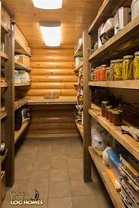 Pantry With Recycled Barnwood Shelves