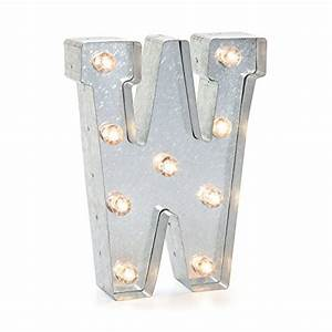 darice silver metal marquee letter 9875quot w import it all With darice silver metal marquee letter 9 875