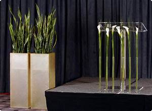 Deko Für Vasen : deko f r konferenz vasen f r rednerpult von feichtinger blumen s f rednerpult konferenz ~ Orissabook.com Haus und Dekorationen