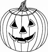 Halloween Coloring Drawings Line sketch template