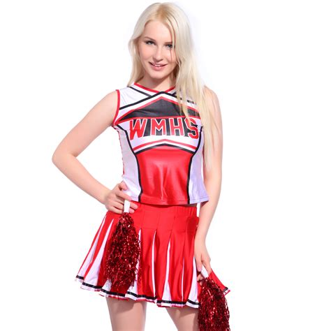 High School Musical Costumes Girls Glee Cheerleader Costume Outfit Size XS 6-24 | eBay