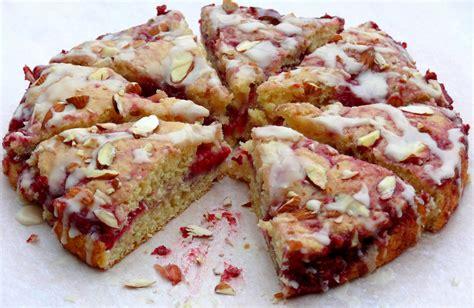 To make this almond coffee cake recipe: Raspberry Almond Coffee Cake + Video   Noble Pig