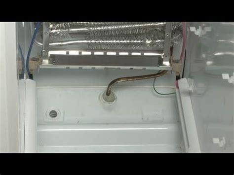 ge refrigerator isnt defrosting defrost heater