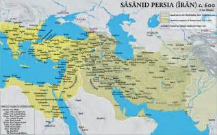 Sassanid Persian Empire Map