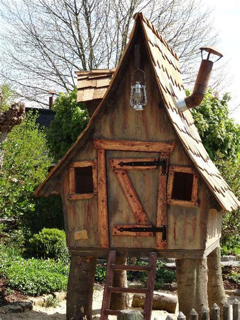 garten hexenhaus selber bauen lieblingsplatz