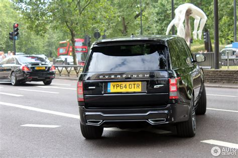 land rover overfinch range rover   july