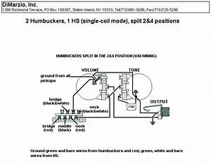 Hsh With Noise Canceling Dimarzio Area Wiring Diagram