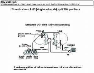 Dimarzio Single Coil Wiring Diagram