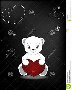 Wnite Teddy Bear In A Cap And A Scarf Cartoon Vector ...
