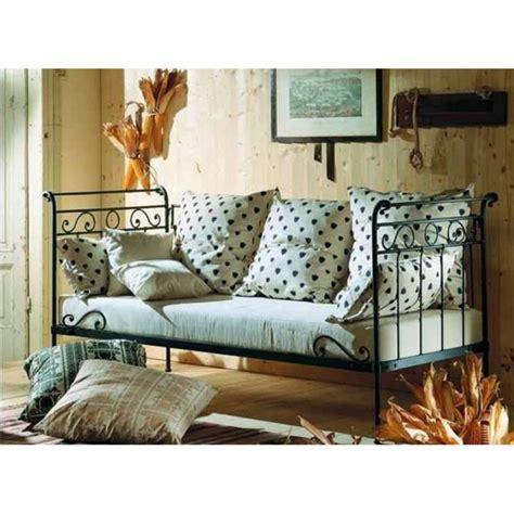 canapé en fer canapé lit en fer forgé modèle avril achat vente