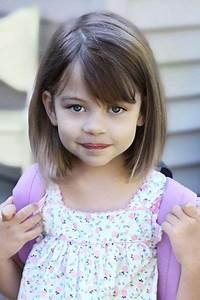 Coupe Petite Fille Mi Long : exemple coiffure mi long petite fille ~ Melissatoandfro.com Idées de Décoration