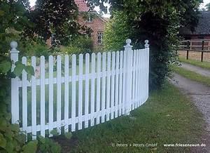 Gartenzaun Weiß Holz : pin gartenzaun holzzaun wei rahmen zaun auf mauersockel ~ Michelbontemps.com Haus und Dekorationen