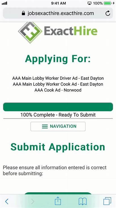 Apply Application Job Exacthire Jump Start Open