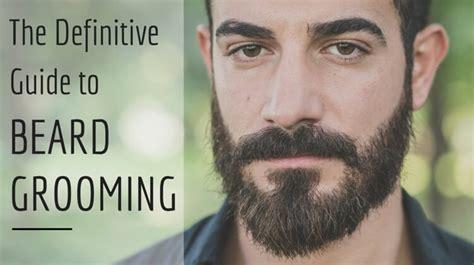 definitive guide    groom  beard   grows