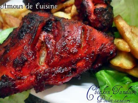 cuisine sauce blanche poulet tandoori amour de cuisine