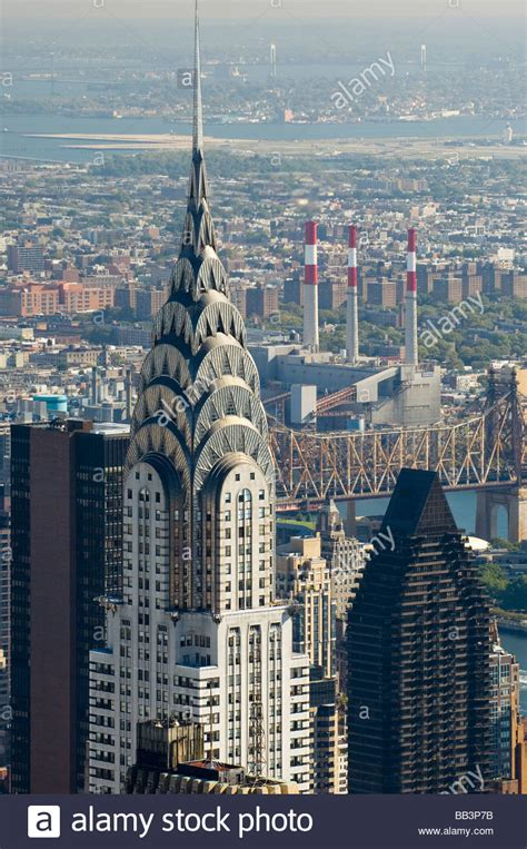 View Of The Chrysler Building From The Empire State