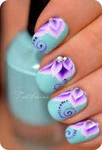 pretty nail designs 15 colorful flower nail designs for summer 2014 pretty designs