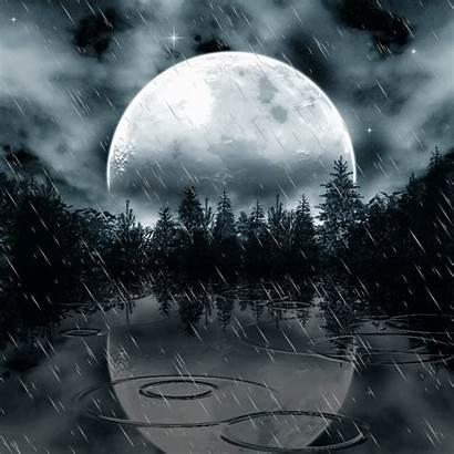 Rain Lunar Animation Animated Raining Funny Gifs