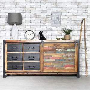 les 25 meilleures idees de la categorie buffet porte With lovely meuble de cuisine maison du monde 1 cuisine bois metal cuisine interieure