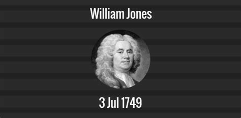 william jones death anniversary