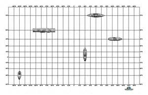 Coordinate Grid Battleship Game