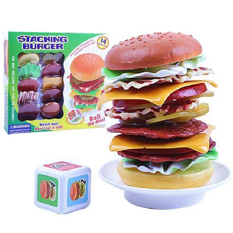 jeu de cuisine hamburger jouet hamburgers ensemble promotion achetez des jouet