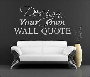 Wall decal create your own ideas