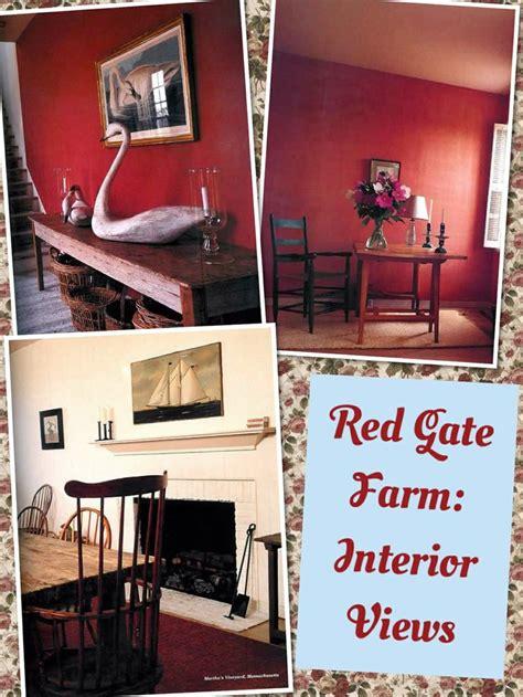interior views of red gate farm jackie s homes