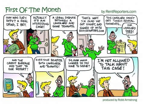 19 Best First Of The Month Comic Strip From Rentreporters