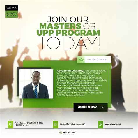 join  masters program today  unlimited job