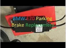 BMW X5 E70 20072013 Parking Brake Replacement DIY YouTube