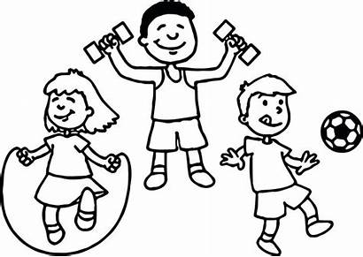 Coloring Sports Pages Sport Printable Drawing Outline